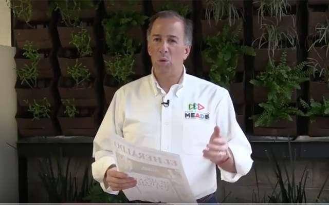 José Antonio Meade Kuribreña felicitó a El Heraldo de México