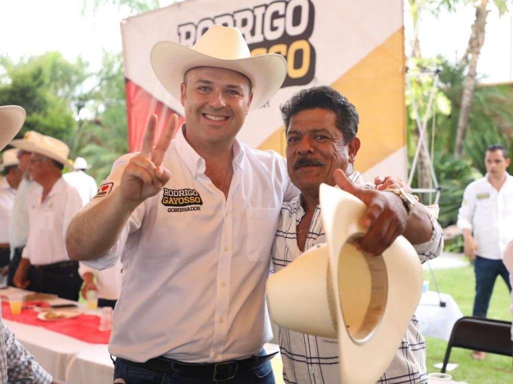 Gayosso promete mayor apoyo al campo en Morelos