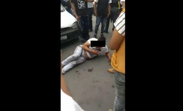 Sujetos armados realizan tiroteo durante cierre de campaña en Los Reyes la Paz