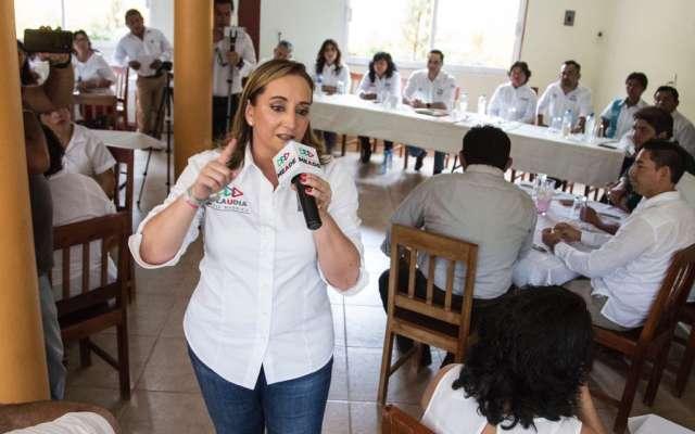 La diferencia del triunfo para Meade lo harán las mujeres, dice Ruiz Massieu en Campeche