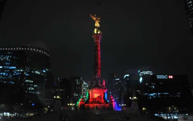 Fotos: Ciudad de México se pinta de verde, azul y rojo por tercer Mundial