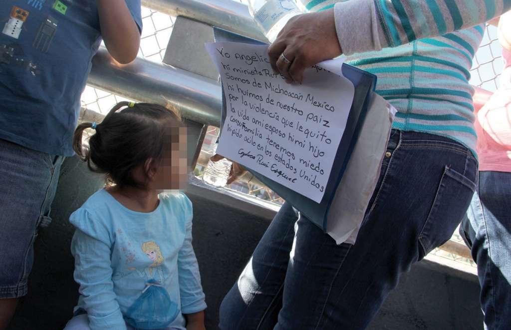 Impiden a migrantes pedir asilo