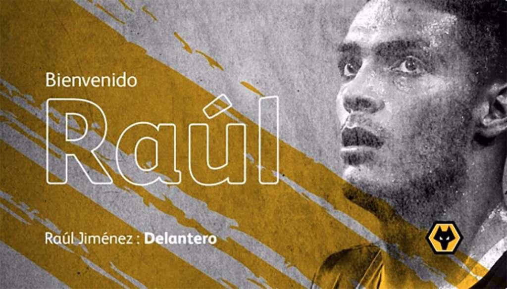 Raúl Jiménez jugará en el Wolverhampton