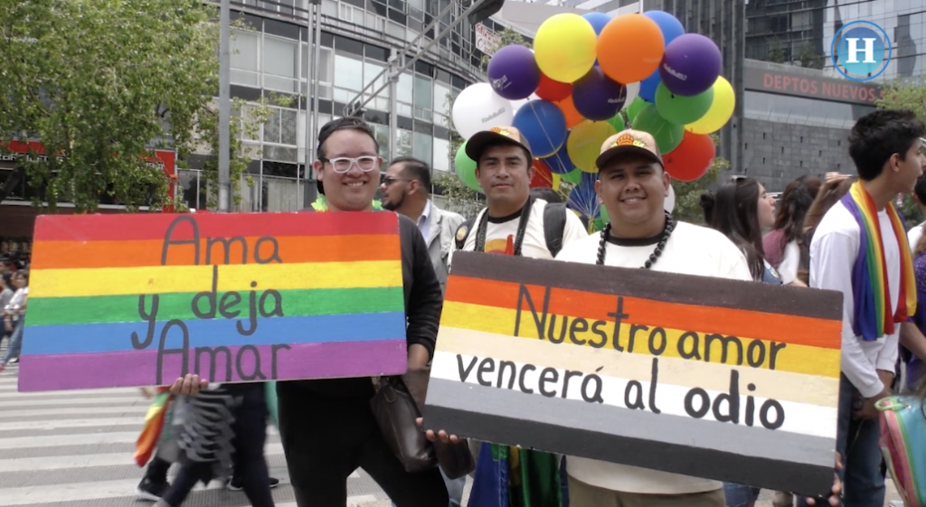 Miles de personas asistieron a la Marcha LGBTI