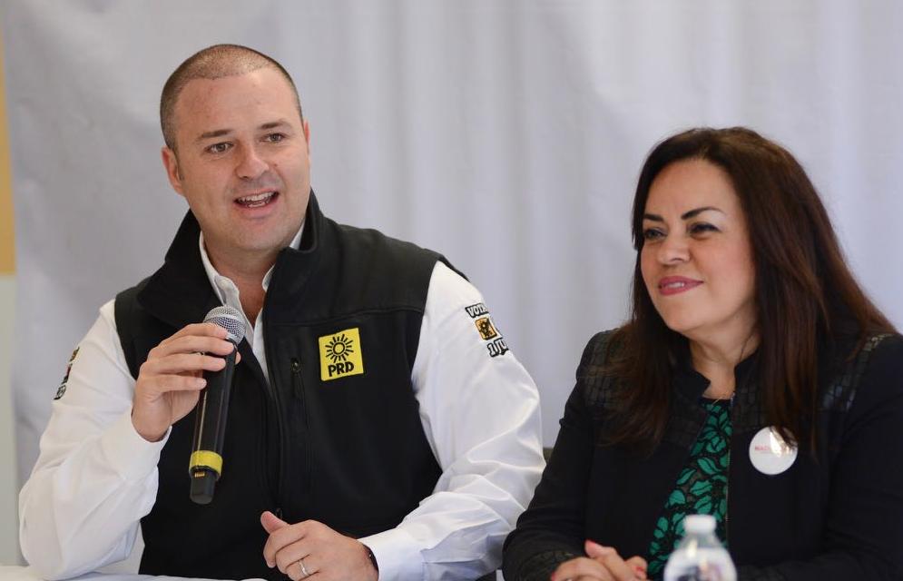 Candidata del PVEM declina a favor de Gayosso