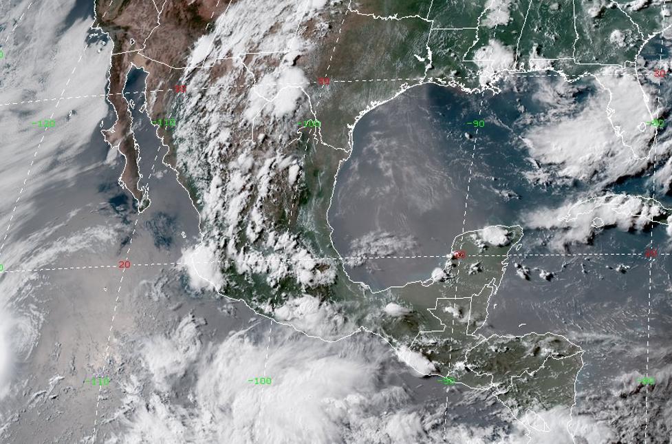 SMN alerta sobre la formación de un ciclón en Oaxaca