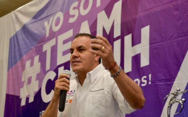 Cuauhtémoc Blanco llama a salir a votar temprano