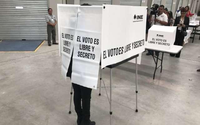 INE estima participación electoral del 70%