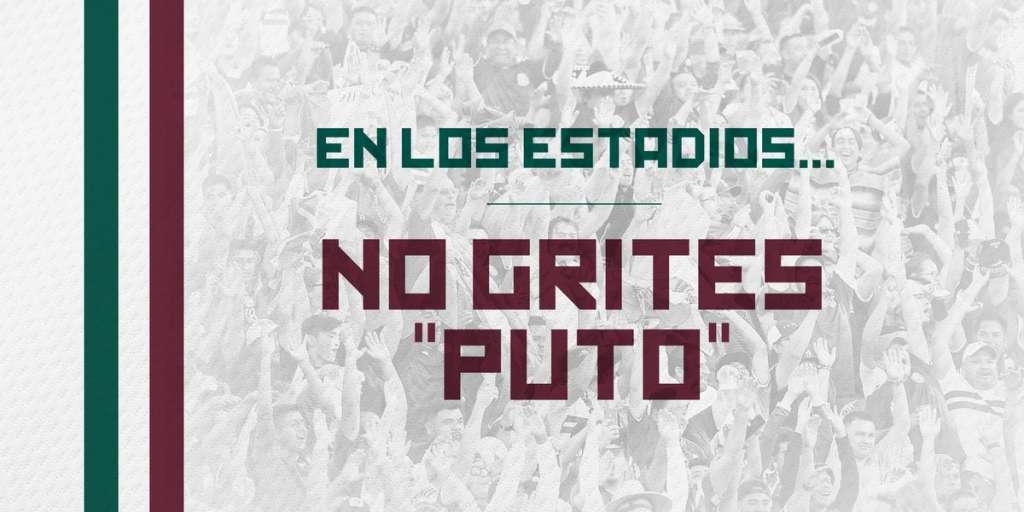 #NoGritesPuto, regañan a mexicanos en redes sociales