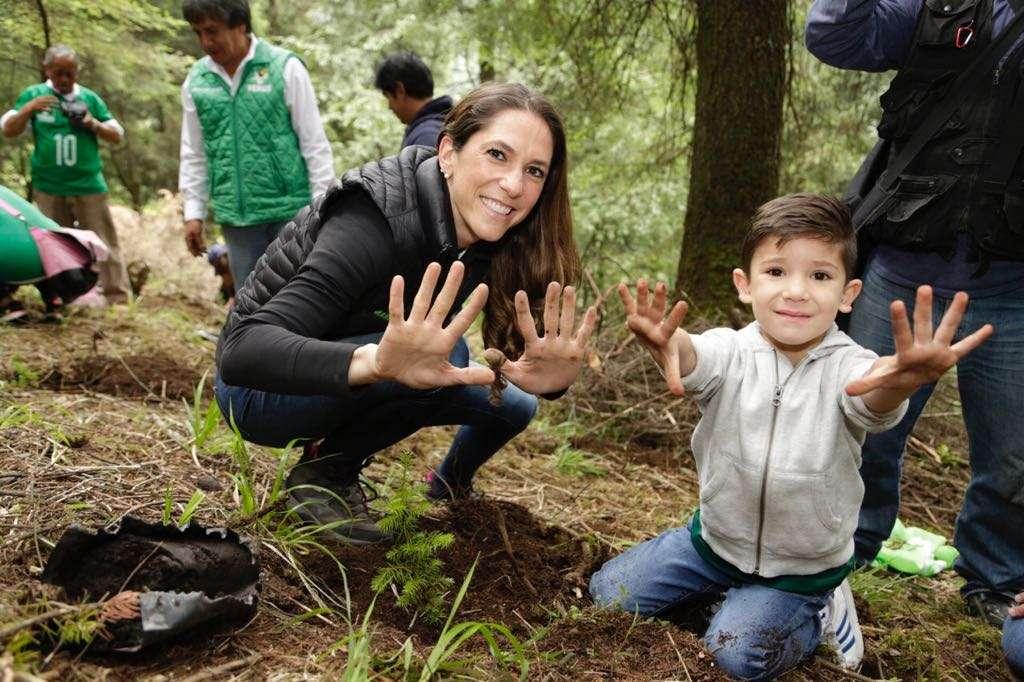 Mariana Boy anuncia programa de recuperación de bosques