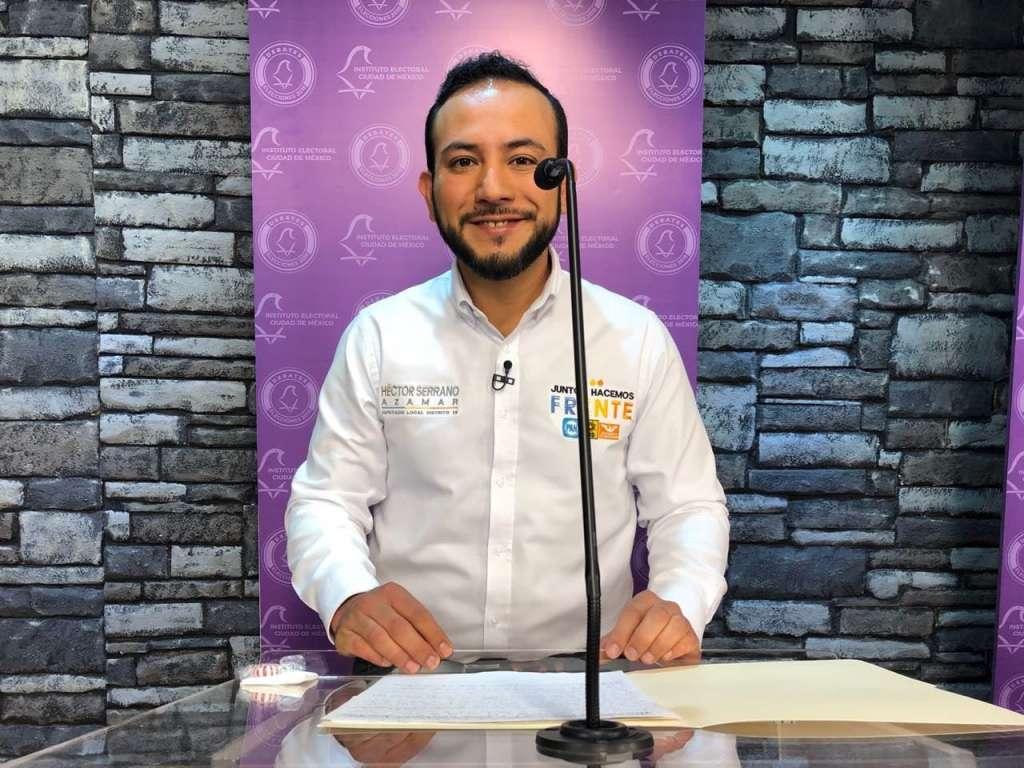 """Declina candidato del Partido Humanista a favor de la coalición """"Por la CDMX al Frente"""""""