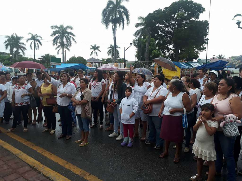 En Tixkokob protestan por ola de robos