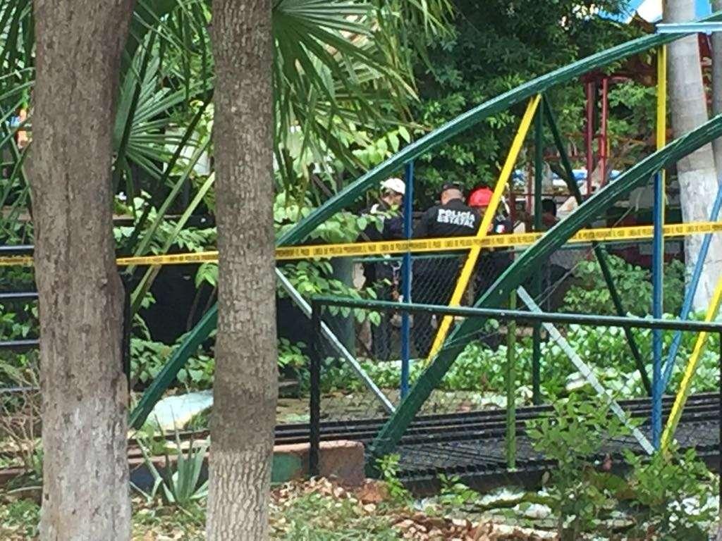 Muere prensado en teleférico de zoológico de Mérida