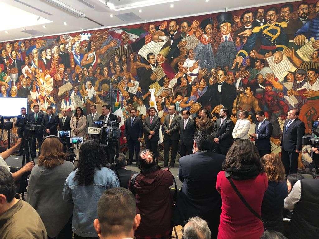Gobierno capitalino firma nuevo Fideicomiso de Reconstrucción 19S