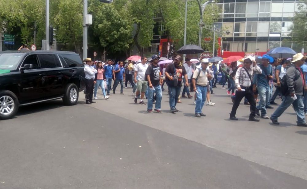 SSP reporta saldo blanco tras protestas en la CDMX