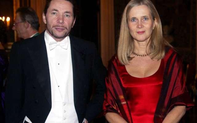 Jean-Claude  Arnault y su esposa, la poetisa Katarina Frostenson (Foto: Especial)