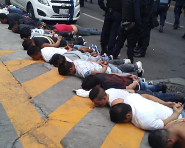 Agresión desata enfrentamiento en AV. Tláhuac