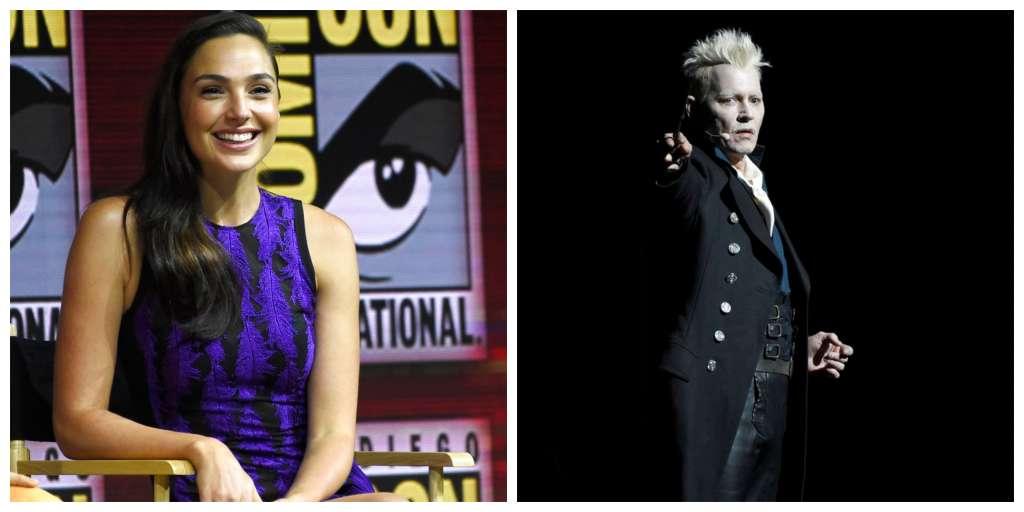 Gal Gadot y Johnny Depp conquistan la Comic Con