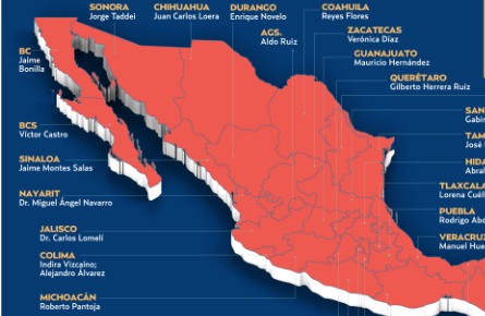 López Obrador unge a 32 súper coordinadores para los estados