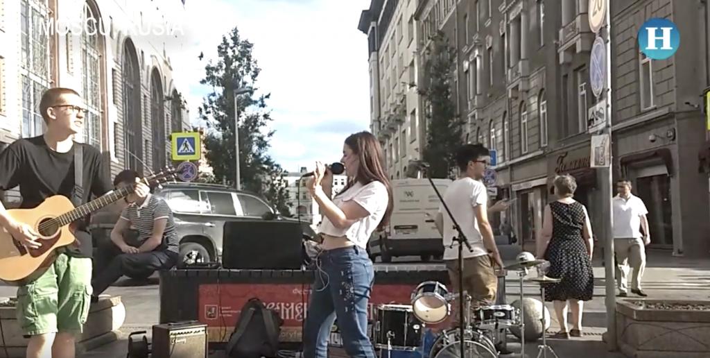 Manifestaciones musicales de los moscovitas