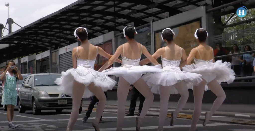 Ballet en las calles de la CDMX