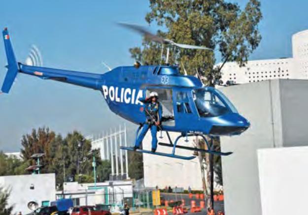 Van helicópteros vs. delincuencia