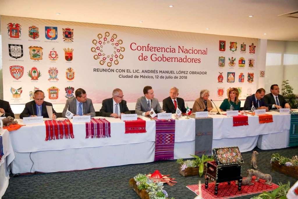Gobernadores de la Conago coinciden en la disposición al diálogo con AMLO