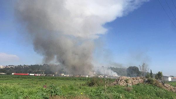 Explosión de polvorín en Tultepec deja al menos 4 muertos