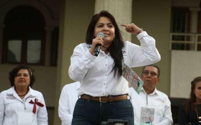 Nestora Salgado. FOTO: Cuartoscuro