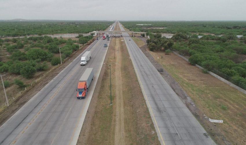 Cabeza de Vaca pone en marcha ampliación a puente internacional Nuevo Laredo