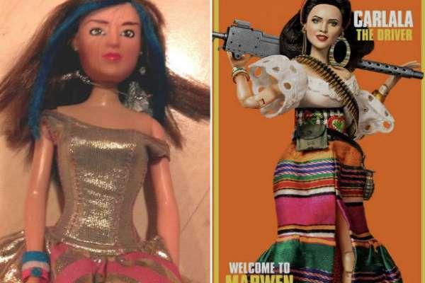 Eiza González: De Lola a Marwen, su evolución como muñeca