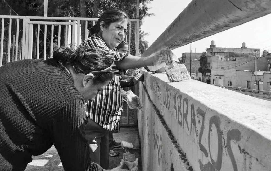 Construyen comunidad vs. violencia