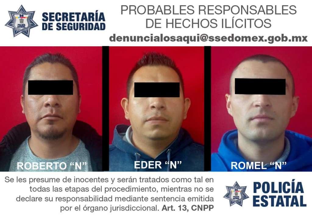 Caen tres policías del Edomex por extorsión y secuestro