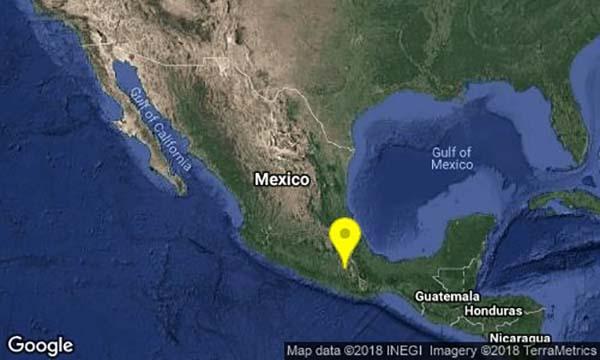 Interacción entre placas de Cocos y de Norteamérica produjo sismo en Oaxaca