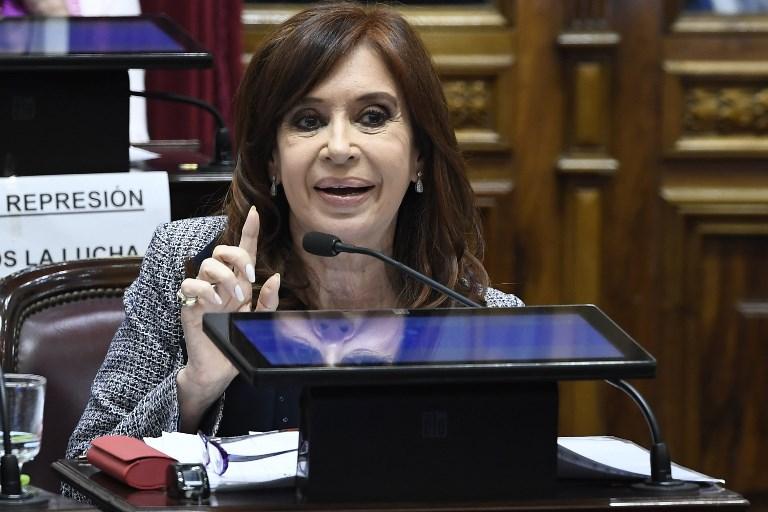 Kirchner no puede ser detenida, pero se la puede imputar y condenar. FOTO: AFP