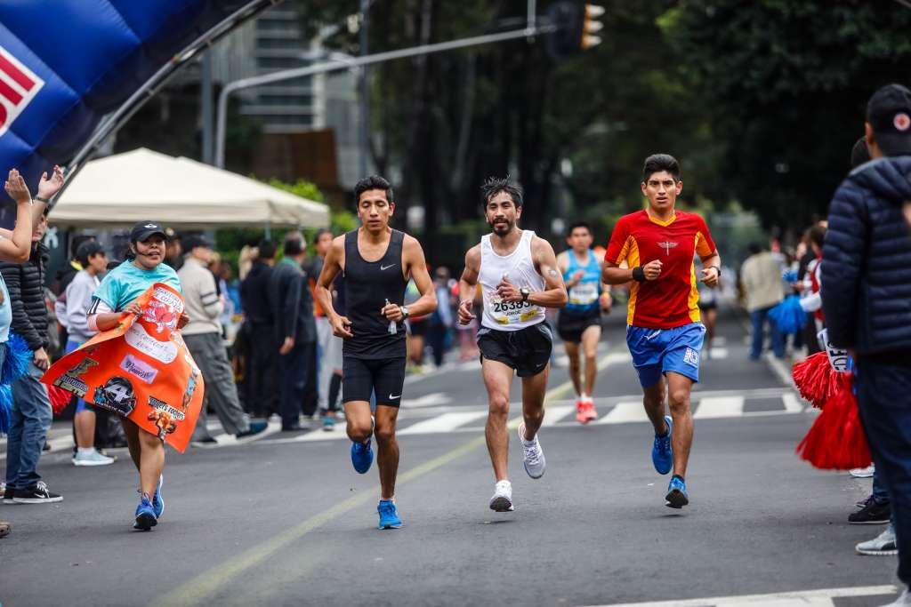 El Maratón de la Ciudad de México cumplió con las exigencias de los organizadores y de los corredores (Foto: NAYELI CRUZ)