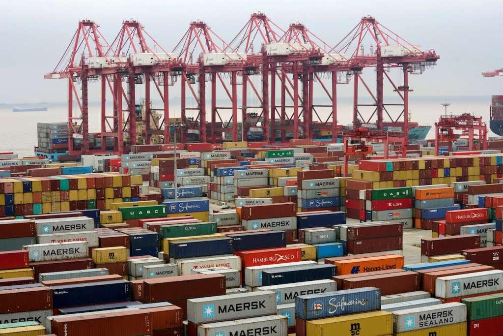 En el país se han movilizado un total de 6 millones 375 mil contenedores en sus puertos marítimos. Foto: REUTERS