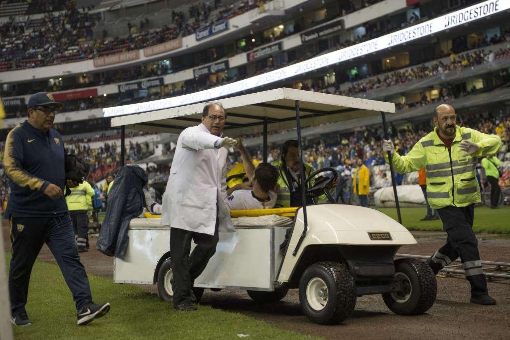 Hace cuatro meses, en un encuentro ante el Cruz Azul, el futbolista español sufrió la misma lesión al caer mal sobre su brazo (Foto: Mexsport)