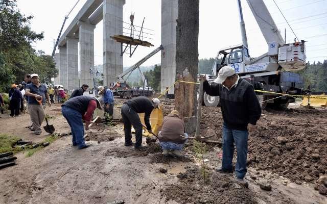 Los trabajos se realizarán en los carriles de baja velocidad y central. FOTO: ARCHIVO/ CUARTOSCURO