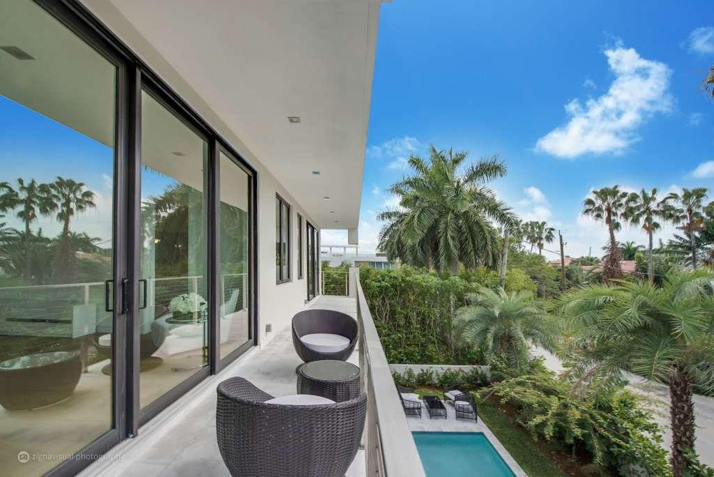 Fotografía cedida por Sabal Development donde se aprecia una vista del interior de la lujosa vivienda ubicada en la exclusiva comunidad privada de Palm Island, en Miami Beach (Foto: EFE)