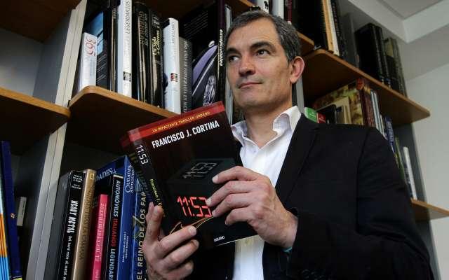 El abogado y escritor Francisco J. Cortina  FOTO: Notimex