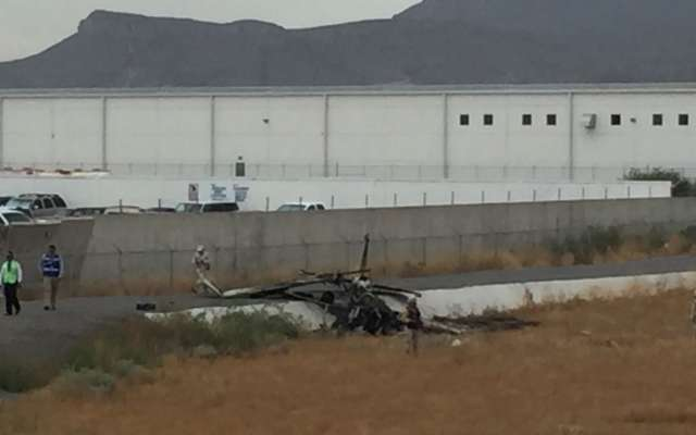 La avioneta venía del municipio de Aldama, y poco antes de aterrizar el piloto tuvo problemas con la aeronave. FOTO: ESPECIAL