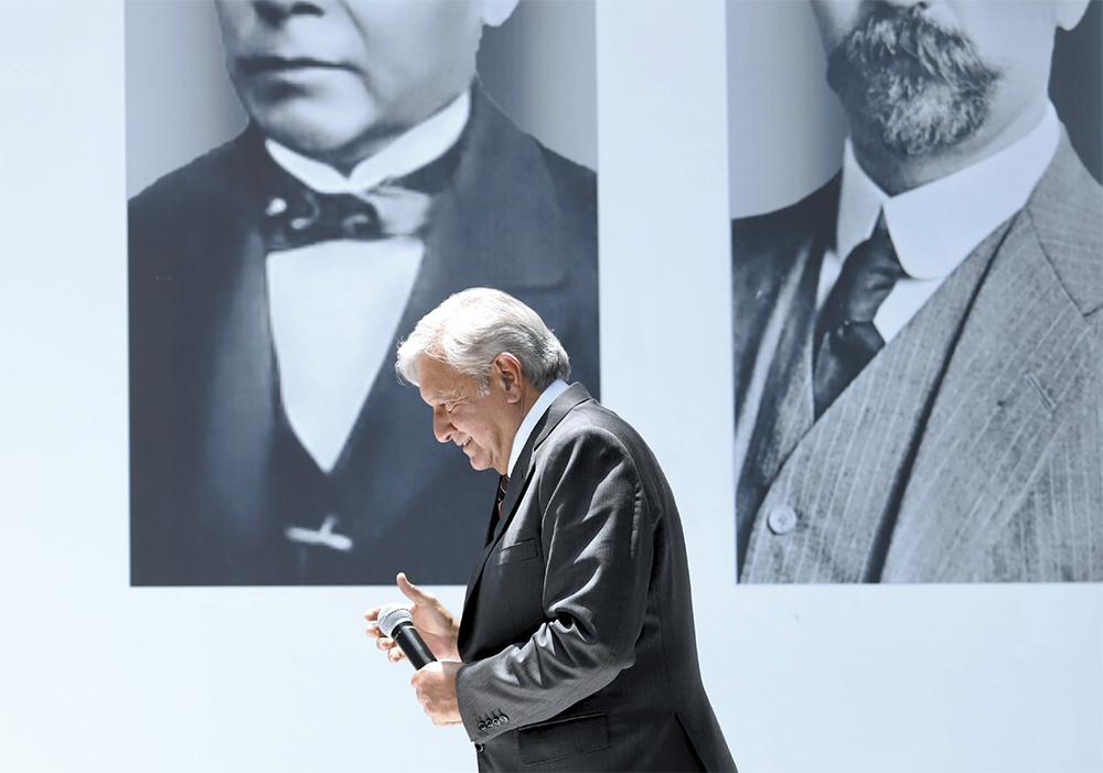 López Obrador definió su estrategia en materia de seguridad pública en todo el país. Foto:  VÍCTOR GAHBLER