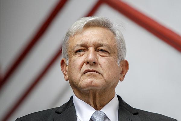 Alfonso Durazo acompañó al presidente electo a la reunión. FOTO: CUARTOSCURO
