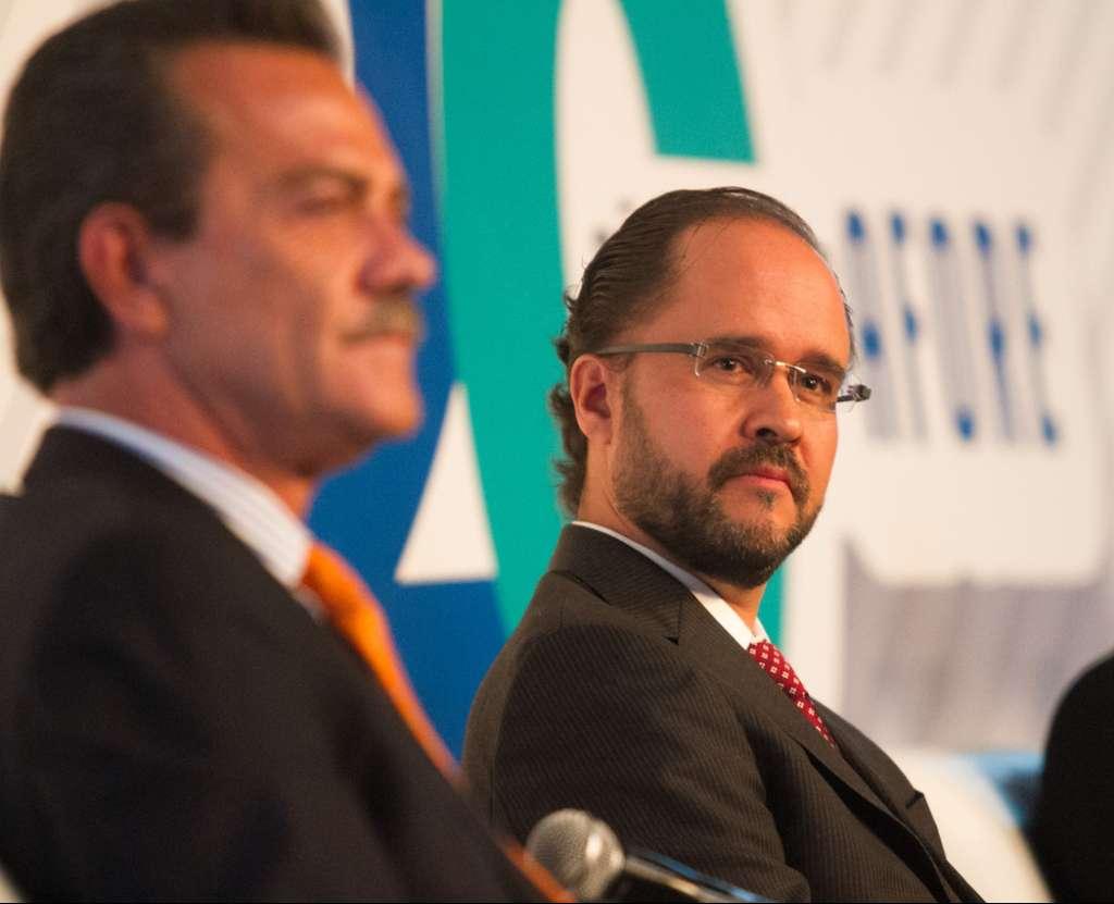 CIUDAD DE MÉXICO, 19JULIO2017.- Carlos Ramírez Fuentes, presidente de la Comisión Nacional del Sistema de Ahorro para el Retiro.