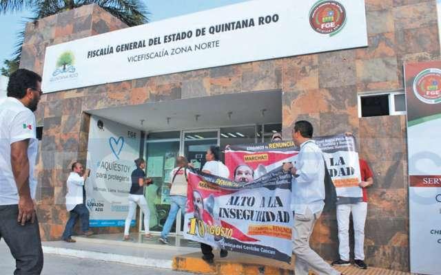 Organizaciones sociales demandaron, a principios de agosto, la remoción del actual fiscal. FOTO: ESPECIAL