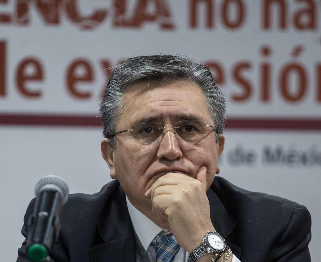 Luis Raúl González Pérez, presidente de la Comisión Nacional de Derechos Humanos.   FOTO: ADOLFO VLADIMIR /CUARTOSCURO.COM