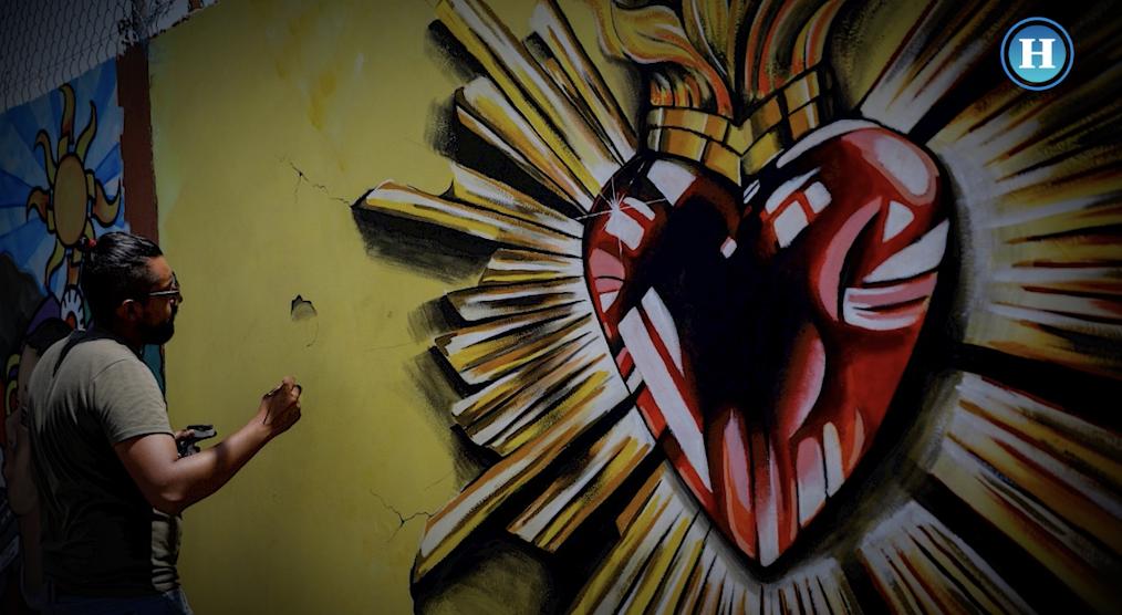 Murales para borrar estigmas en Ecatepec