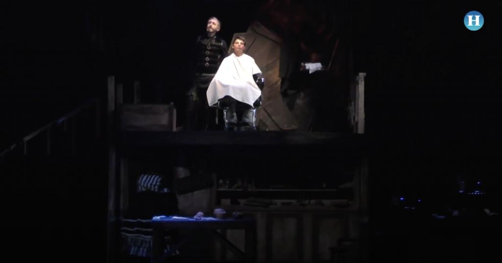Sweeney Todd por primera vez en México