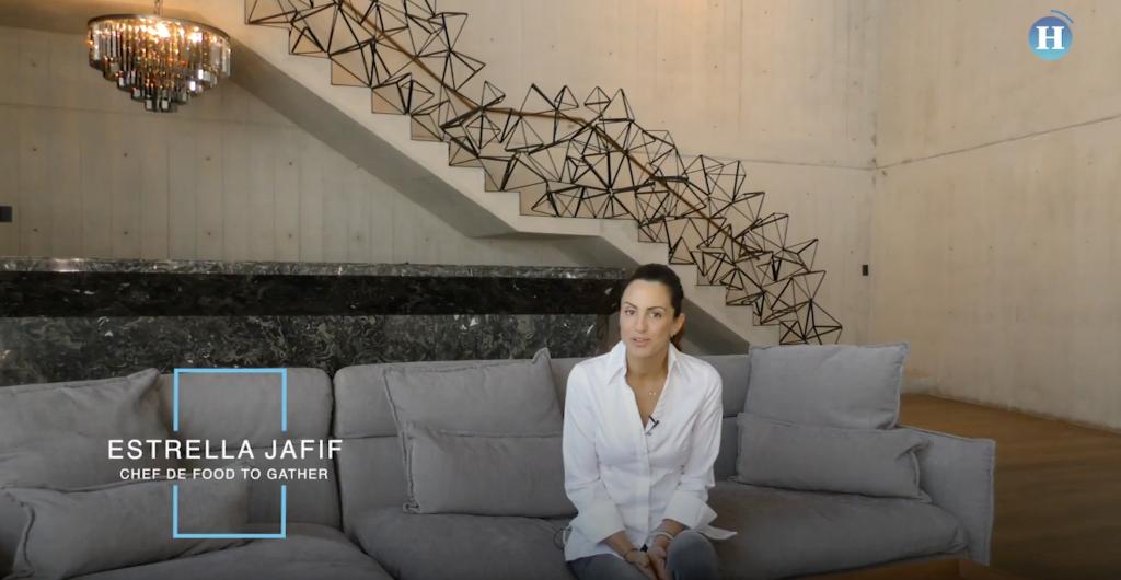 Estrella Jafif: La vida de una chef polifacética